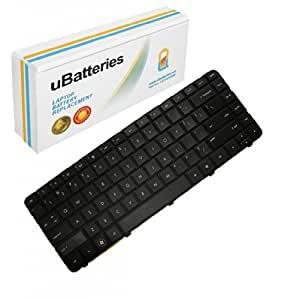 UBatteries Laptop Keyboard HP Pavilion g6-1380sv (Black)