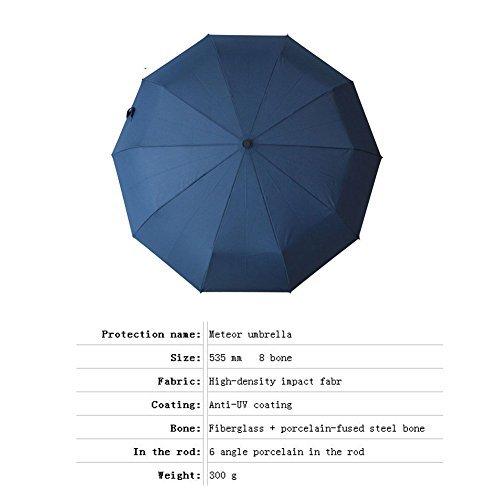 ANGTUO Creative folding erect middle finger umbrella/Fuck the Rain Umbrella,Black
