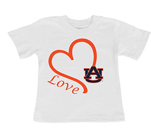 Future Tailgater Auburn Tigers Love Baby/Toddler T-Shirt (6 Months)