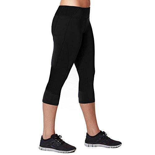 Cheap JUXU Sport Women's Performance Capri Legging XS Black