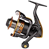 Goture Spinning Fishing Reel Metal Spool 6bb for Freshwater Saltwater 500 1000 2000 3000 4000 5000 6000 Series (6000 Series)