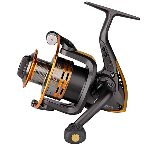 Goture Spinning Fishing Reel Metal Spool 6bb for Freshwater Saltwater 500 1000 2000 3000 4000 5000 6000 Series