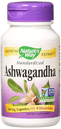 Nature's Way - Ashwagandha, 60 veggie caps