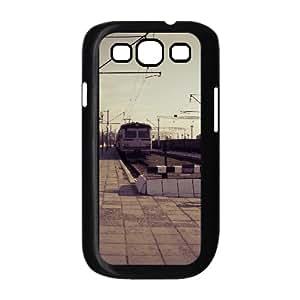 Train Station 3 Samsung Galaxy S3 Case, Case for Samsung Galaxy S3 Mini Cheap Dustin - Black
