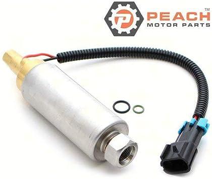 Electric; Replaces Mercruiser: 861155A 3 861155A2 WSM: 600-12 Made b Mallory: 9-35432 Mercury Marine: 861155A 3 861155A 2 Peach Motor Parts PM-861155A-3 Fuel Pump 861155A3 Sierra: 18-8868