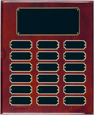 18 Plate Perpetual Plaque 10 1/2
