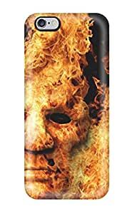 Lucas B Schmidt's Shop 0AXRVIKOQL3F5Y10 New Fashion Premium Tpu Case Cover For Iphone 6 Plus - Fire Mask Artistic Abstract Artistic
