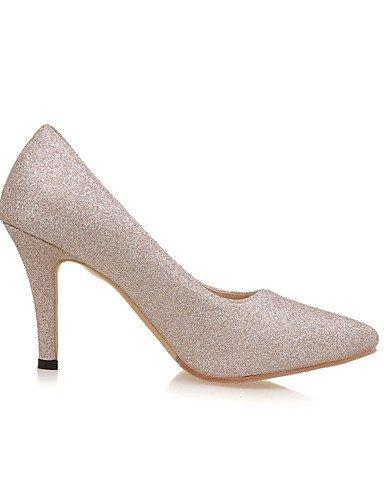 GGX/Damen Schuhe Stiletto Heel Spitz Zulaufender Zehenbereich Pumpe mehr Farbe erhältlich champagne-us7.5 / eu38 / uk5.5 / cn38