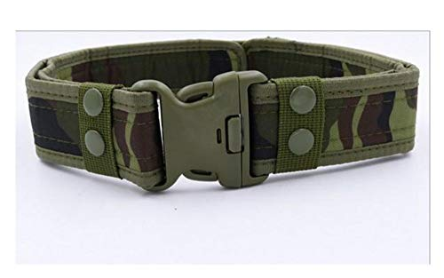PIDAIKING Belt Army Style Combat Belts Quick Release Tactical Belt Fashion Men Canvas Waistband Outdoor Hunting 125Cm,Camouflage