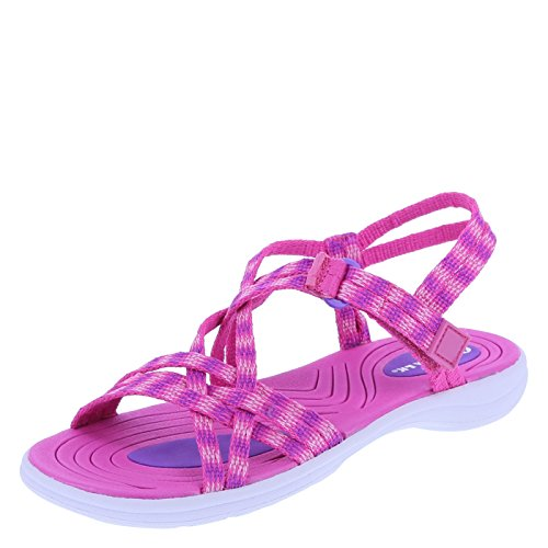 Price comparison product image Airwalk Girls' Pink Girls' Jayden Sport Sandal 2 Regular