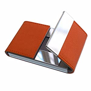 Amazoncom mikey store credit card package card holder for Orange business card holder