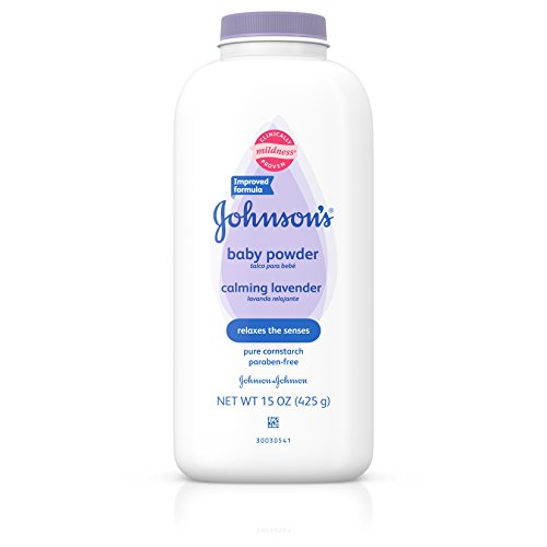 Johnson's Baby Powder Calming Lavender For Irritated Skin, 15 Oz.