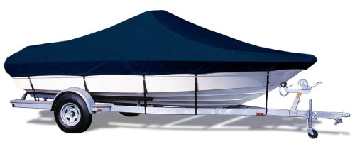 (Taylor Made Products Trailerite Semi-Custom Boat Cover for Bay Style V-Hull Center Console Boats with Outboard Motors (20'5