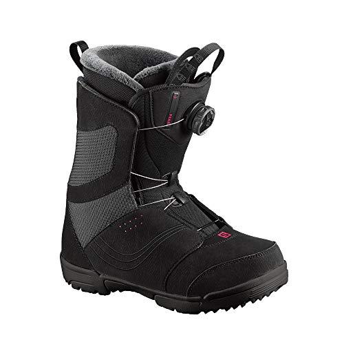 Salomon Pearl Boa Womens Snowboard Boots 2020-7.0/Black - Pearl Womens Snowboard Boots