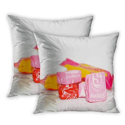 Houlor Set of 2 Throw Pillow Covers Colorful