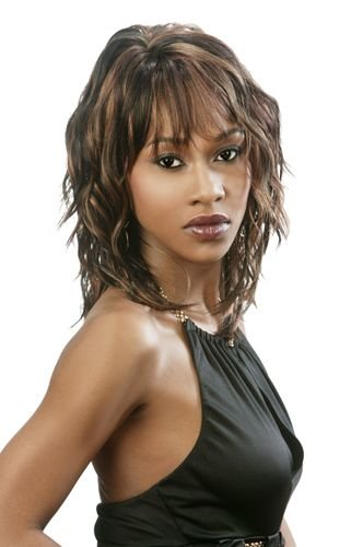 Tress Synthetic Wig - Motown Tress Synthetic Wig - Flirt - 1B