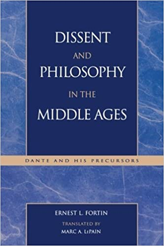 Book Dissent and Philosophy in the Middle Ages: Dante and His Precursors (Applications of Political Theory) by Ernest L. Fortin (2002-08-30)
