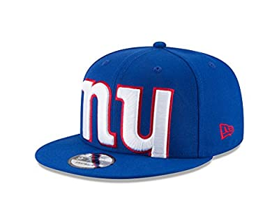 New Era New York Giants BIG UNDER Snapback 9Fifty NFL Adjustable Hat - Blue by New Era