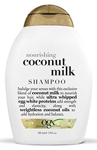 Ogx Shampoo Coconut Milk Nourishing 13 Ounce (384ml) (2 Pack)