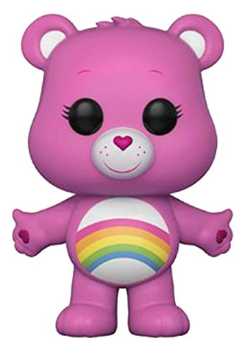 Funko POP! Animation: Care Bears Cheer Bear (Styles May Vary) Collectible Figure, Multicolor