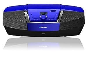 Blaupunkt BB12BL - Radio CD (FM, PLL, Jugador, CD, 4W, LCD, AC / batería) Azul