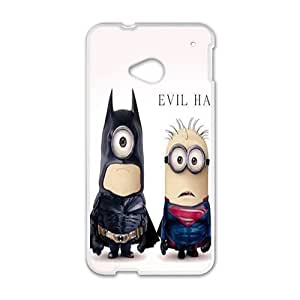 SHEP Minions Batman Superman Case Cover For HTC M7