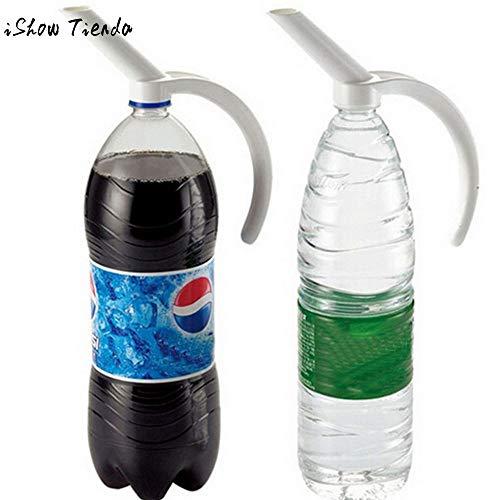 Vistaric Plastic Bottled Beverage Handle Soda Coke Drinkeware Water Spout Bottle Creative Spout Bottle Handle Beverage Dispenser Dispense from Vistaric