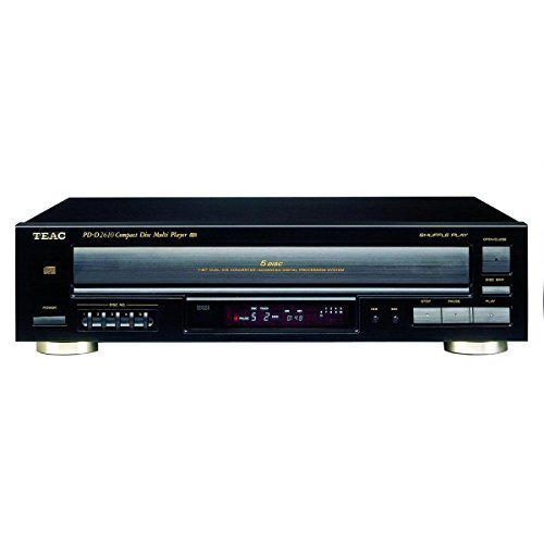 teac-pd-d2610mkii-5-disc-carousel-cd-changer-with-remote