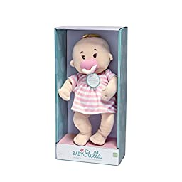 Manhattan Toy Baby Stella Peach Soft Nurturing First Baby Doll for Ages 1 Year and Up, 15\