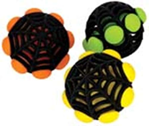 JW Pet Company Arachnoid Ball Dog Toy (Colors - Toy Pet Jw Squeaky