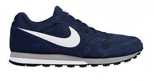 Nike Md Runner 2, Zapatillas para Hombre Azul (Azul (star blue/coastal blue-wolf grey-white))