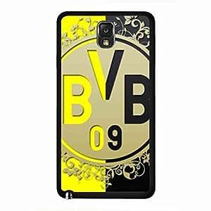 Hardshell Cover Skin,Popular FC Borussia Dortmund BVB Phone Cover,Personal Design BVB 09 Samsung Galaxy Note 3 Phone Cover