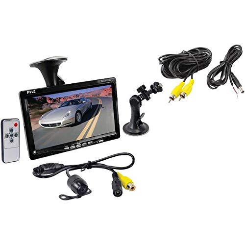 Pyle Vehicle Car Van Jeep Rear View Backup Camera and Monitor Kit