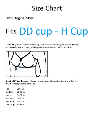 c2f09deb67e2a Breast Nest Bra Alternatives for B to HH Large Cups - Buy Online in ...