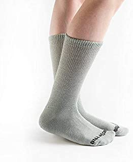 product image for Doc Ortho Ultra Soft Loose Fit Diabetic Socks, 3 Pairs, Crew