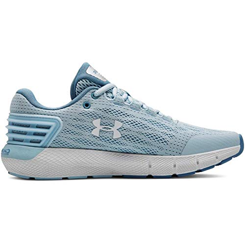 Under Armour Women's Charged Rogue Running Shoe, Coded Blue (300)/Boho Blue, 7.5 (Best Shoes For Marathon 2019)