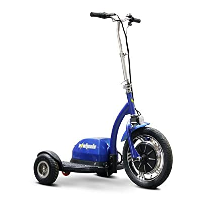 Stand and Ride Scooter Color: Blue