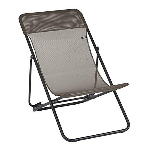 Cheap Lafuma LFM2502-7660 Folding Sling Chair, Graphite for sale