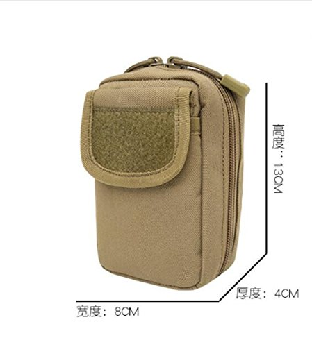 Mefly Zubehör Paket Tasche Tasche Handtasche Geldbörse Brieftasche taktische Zubehör In vielen Handy Schlüssel Tasche Tasche, Cp, spezielle Größe