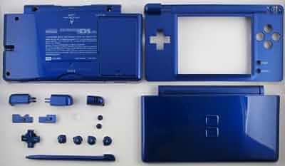 Amazon.com: Blue Metallic - Nintendo DS Lite Complete Full