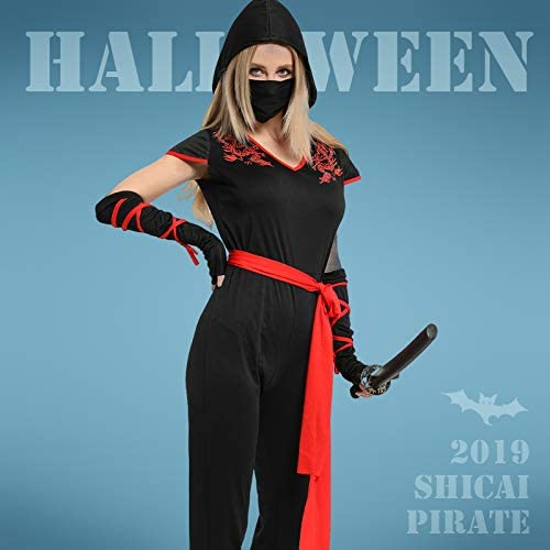 Amazon.com: Halloween Costume Adult Ninja Show Costume Show ...