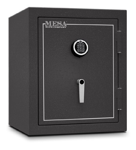Mesa Safe Company Model MBF2620E Burglary and Fire Safe with Electronic Lock, Hammered Gray by Mesa Safe