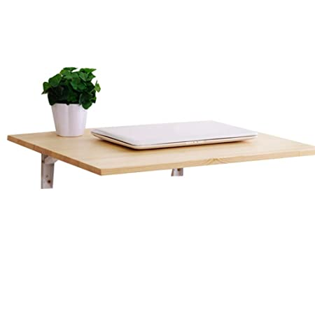Mesa Plegable de Pared Plegable con 2 Soportes de Metal Cocina de ...