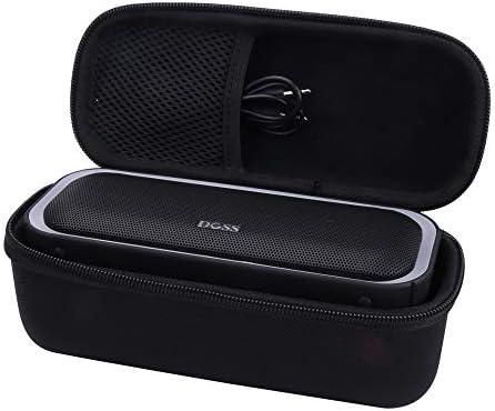Aenllosi Hard Storge Case for DOSS SoundBox Pro Portable Wireless Bluetooth Speaker V4.2 Black