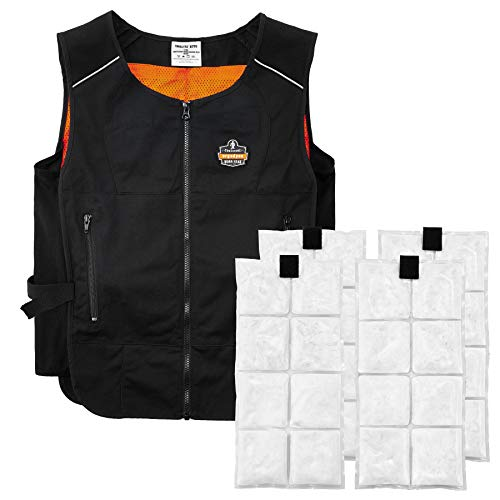 Cooling Vest with 4 Ice Packs