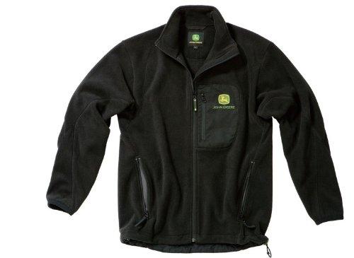 säästää jopa 80% useita värejä klassikko John Deere Fleece Jacket - Black, 3XL: Amazon.co.uk: Clothing
