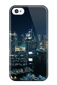 CaseyKBrown Iphone 4/4s Well-designed Hard Case Cover Amazing Dubai Marina Protector hjbrhga1544