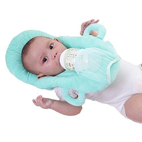 Baby Portable Detachable Feeding Pillows Self-Feeding Support Baby Cushion Pillow (Blue)