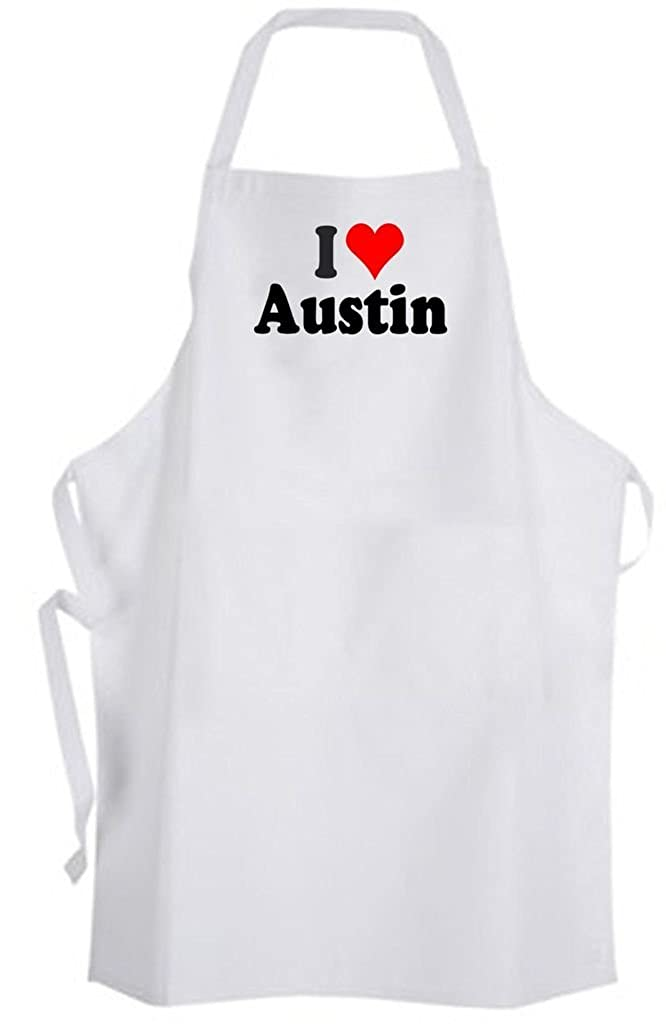 I Love Austin – Adult Size Apron – Texas