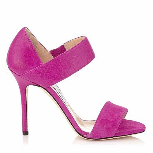 Amazon.com | Exing Womenss Shoes Sandalias De Mujer Europeas Y Americanas Con Zapatos De Tacón Alto Con Punta Abierta | Sandals